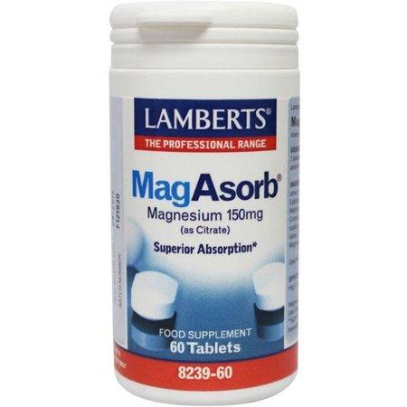 Lamberts MagAsorb (magnesium citraat) 150 mg