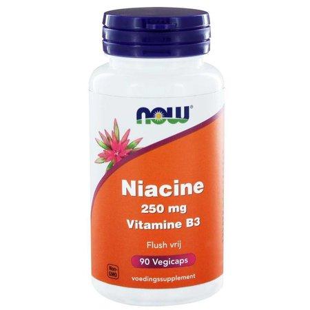 NOW Niacine flush vrij 250 mg