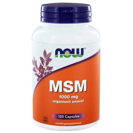 NOW MSM 1000 mg