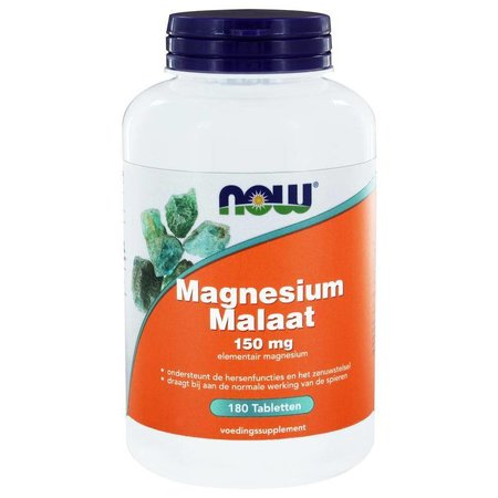 NOW Magnesium malaat 115 mg