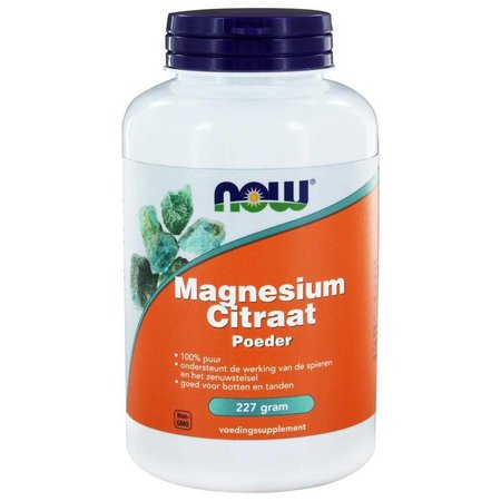 NOW Magnesium citraat poeder