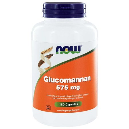 NOW Glucomannan 575 mg