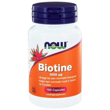 NOW Biotine 1000 mcg