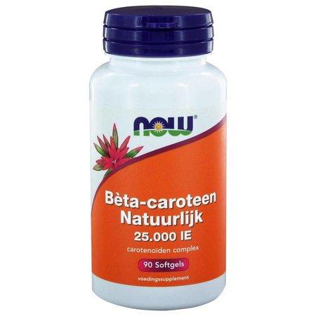 NOW Beta caroteen natuurlijk