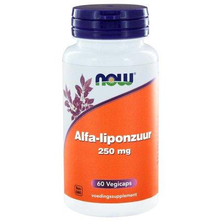 NOW Alfa liponzuur 250 mg