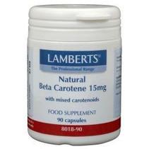Vitamine A 15 mg natuurlijke (beta caroteen)
