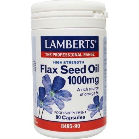 Lamberts Lijnzaadolie (flaxseed oil) 1000 mg