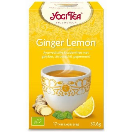 Yogi Tea Ginger lemon munt