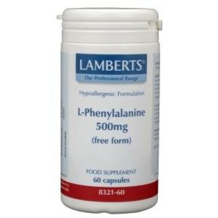 Lamberts L-Phenylalanine 500 mg