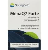 Springfield MenaQ7 Forte vitamine K2 180 mcg