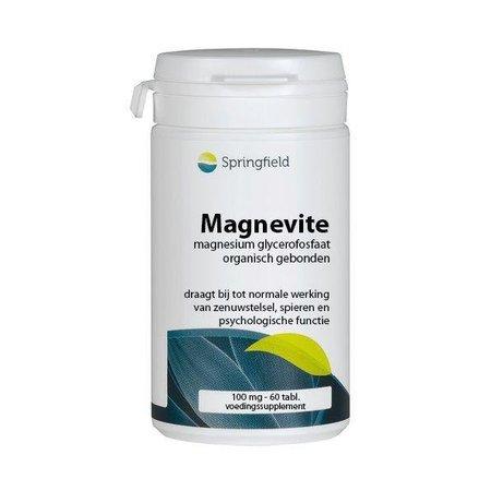 Springfield Magnevite magnesium glycerofosfaat 100 mg