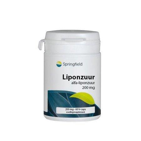 Springfield Alfa-liponzuur 200 mg