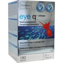 Eye Q omega 3/6 vetzuren chew