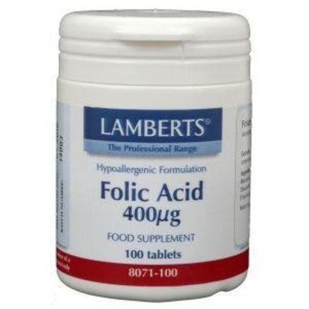 Lamberts Vitamine B11 400 mcg (foliumzuur)