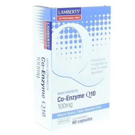 Lamberts Co enzym Q10 100 mg