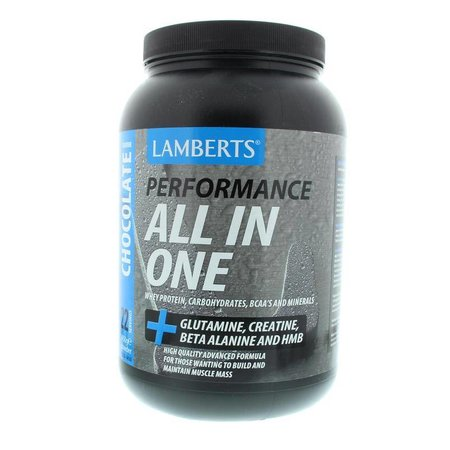 Lamberts All in one whey proteine chocolade