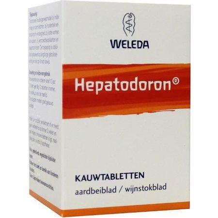 Weleda Hepatodoron kauwtabletten UAD