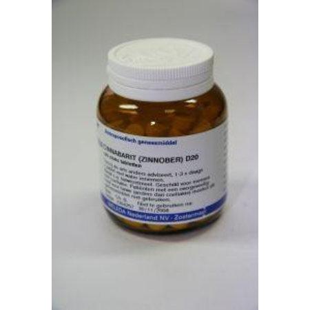 Weleda Cinnabarit D20 tabletten UAD