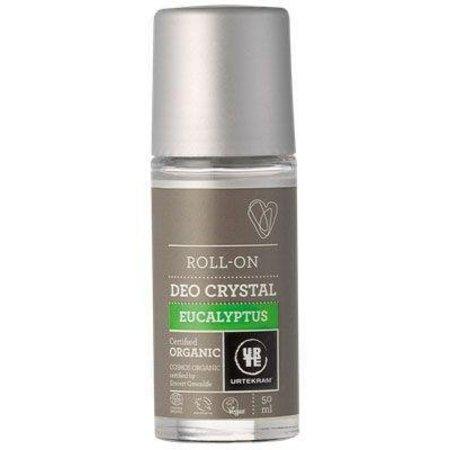 Urtekram Deodorant crystal roll on eucalyptus