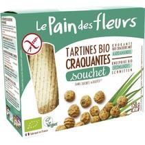 Souchet crackers met aardamandel