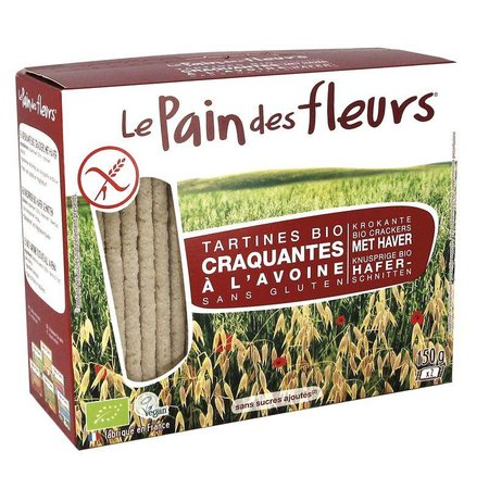 Pain Des Fleurs Haver crackers
