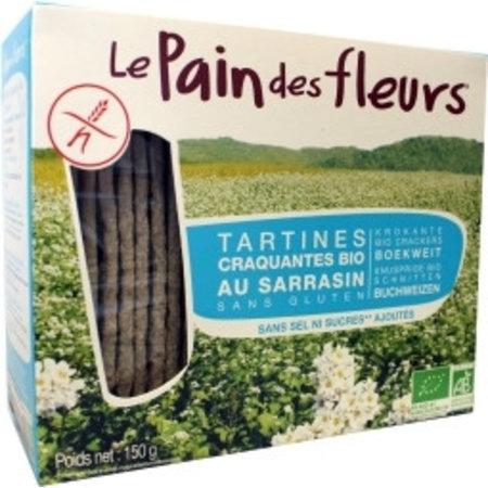 Pain Des Fleurs Boekweit crackers zonder zout
