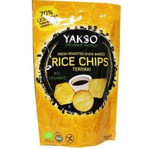 Rice chips teriyaki