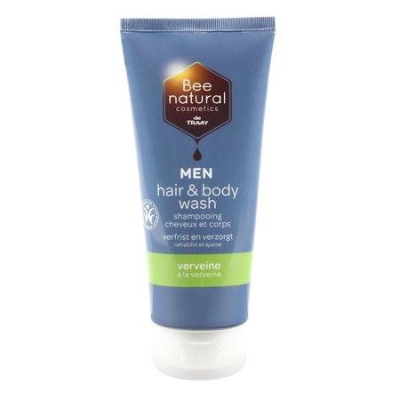Traay Bee Honest Hair & body wash men verveine