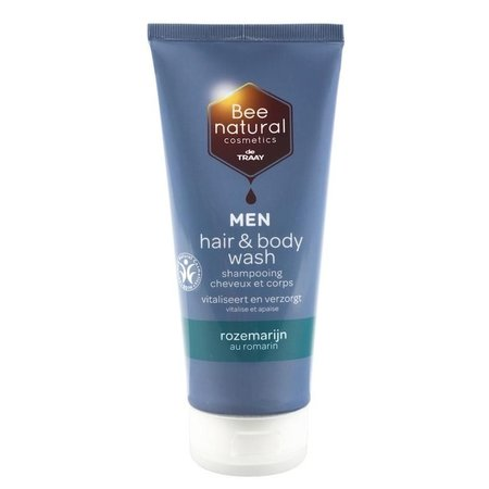 Traay Bee Honest Hair & body wash men rozemarijn