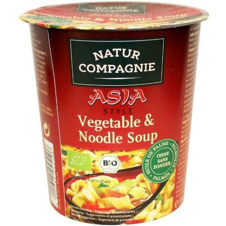 Natur Compagnie Cupnoodles Asia vegetable