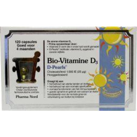 Pharma Nord Bio vitamine D3 25 mcg 1000IE