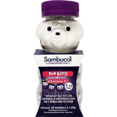 Sambucol Kauwtabletten voor kids