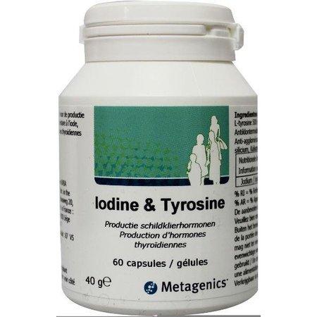 Metagenics Iodine & tyrosine