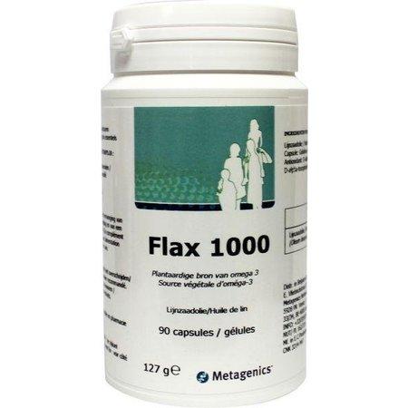 Metagenics Flax 1000 (lijnzaadolie)