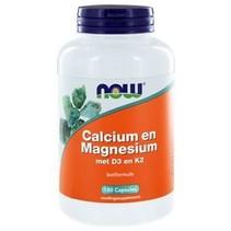 Calcium en Magnesium met D3 en K2
