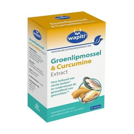 Wapiti Groenlipmossel & curcuma