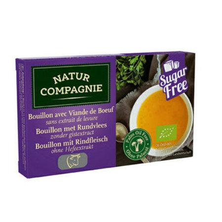 Natur Compagnie Runderbouillon gist/suikervrij