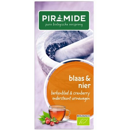 Piramide Blaas en nierkruiden thee eko