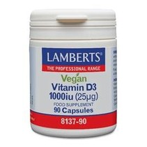 Vitamine D3 1000IE 25 mg vegan