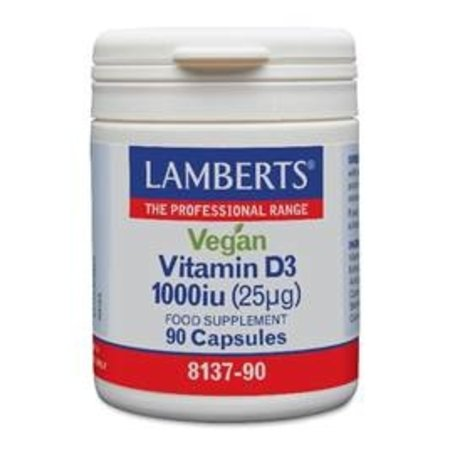 Lamberts Vitamine D3 1000IE 25 mg vegan