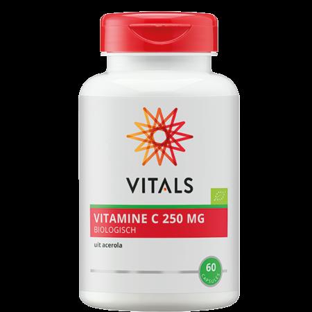 Vitals Vitamine C 250 mg biologisch