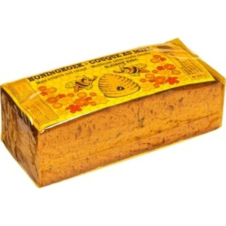 Bijenhof Honingkoek gesneden