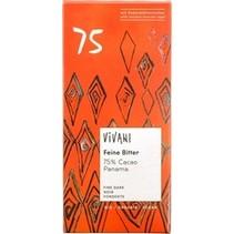 Chocolade puur delicaat 75% Panama