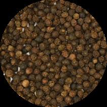Peperkorrels zwart