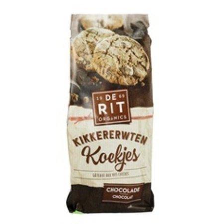 De Rit Kikkererwtenkoek chocolade bio