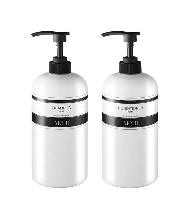 MOHI Shampoo Repair 1L & Conditioner Repair 1L