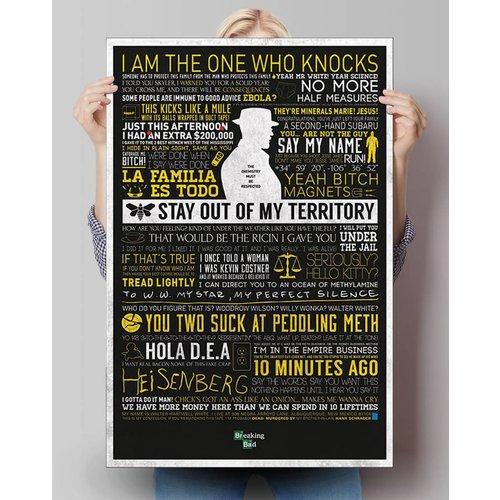 Poster Breaking Bad Zitate