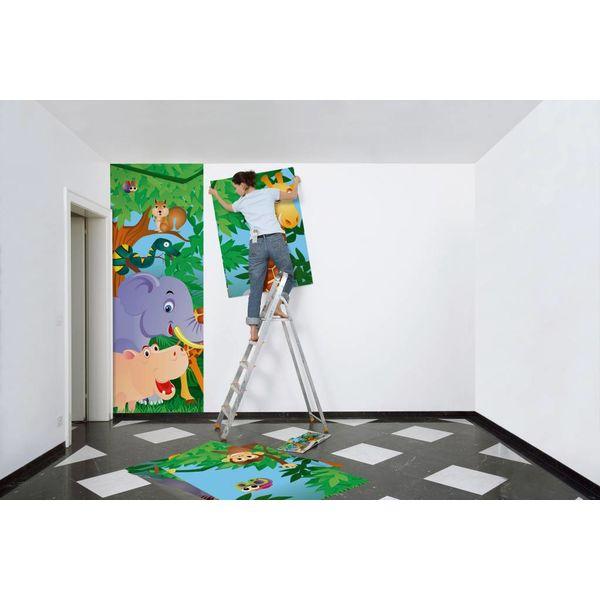 Im Djungel - Fototapete 8-teilig 366 x 254 cm