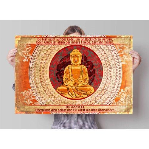 Poster Buddha Zitat