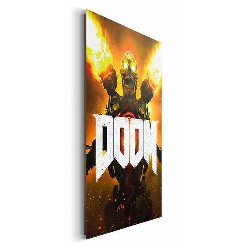 Wandbild Doom